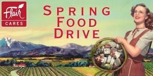 2017 Flair Cares Spring Food Drive