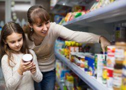 Food drive shopping